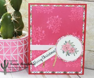 Christmas Card using the Versamark Resist
