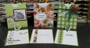 A closer look at the Envelope Pull Out Cards