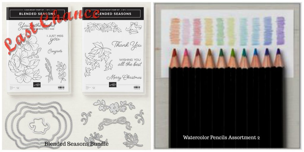 Last Chance on Blended Season's Bundle and Watercolor Assortment 2