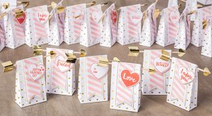 Treat bags perfect for a thank you that came in a monthly Paper Pumpkin Kit.