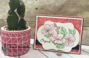 Blended Seasons Card showing Wink of Stella