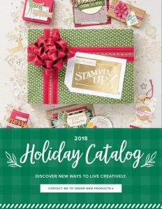 The 2018 Holiday Catalog launched on September 5th. If you would like a one contact me; kabouchikas@msn.com and I will gladly send on out.