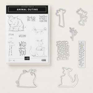 Animal Outing Clear-Mount Bundle148324 Price: $45.00