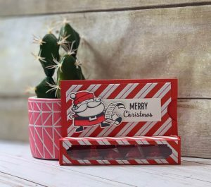 Here is an example of the treat box that can hold a gift card.
