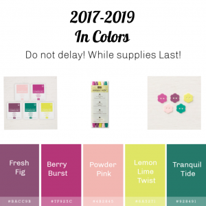 2017-2019 In Colors