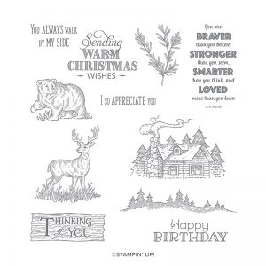 Rustic Retreat Stamp Set