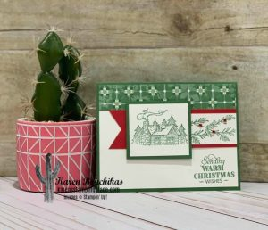Christmas Card using Rustic Retreat