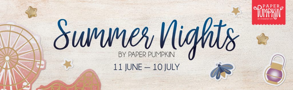 Summer Nights Paper Pumpkin