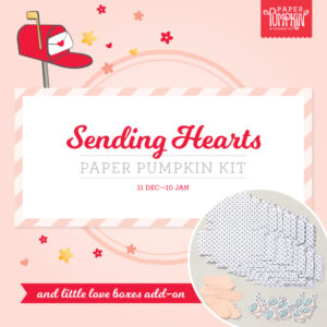 Sending Hearts Paper Pumpking and Little Love boxes Add on