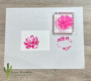 Generational Stamping with Magenta Madness