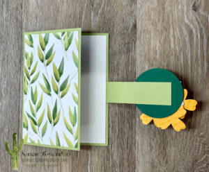A Forevery Greenery Fun Fold 2