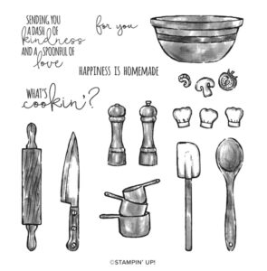 What's Cookin' Cling Stamp Set [154491] - Price: $22.00 - http://msb.im/1ARd