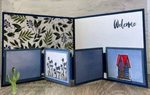 Birdhouse Card Inside One